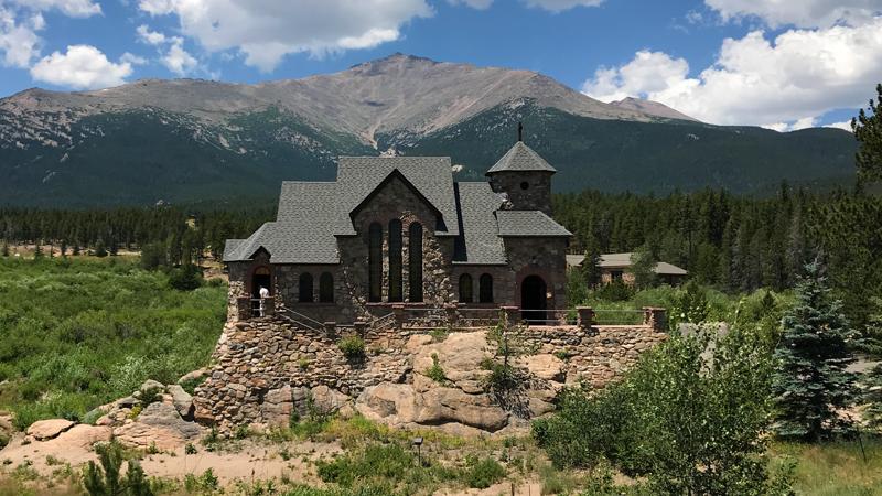 Chapel On The Rock, Saint Catherine Of Siena in Allenspark Colorado